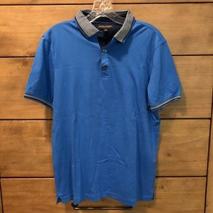 Blue Luxury Touch Polo
